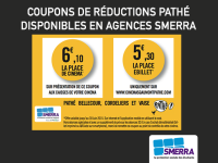 Coupon de réduction Pathé SMERRA