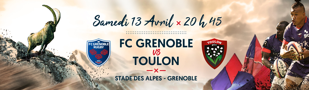 match toulon grenoble