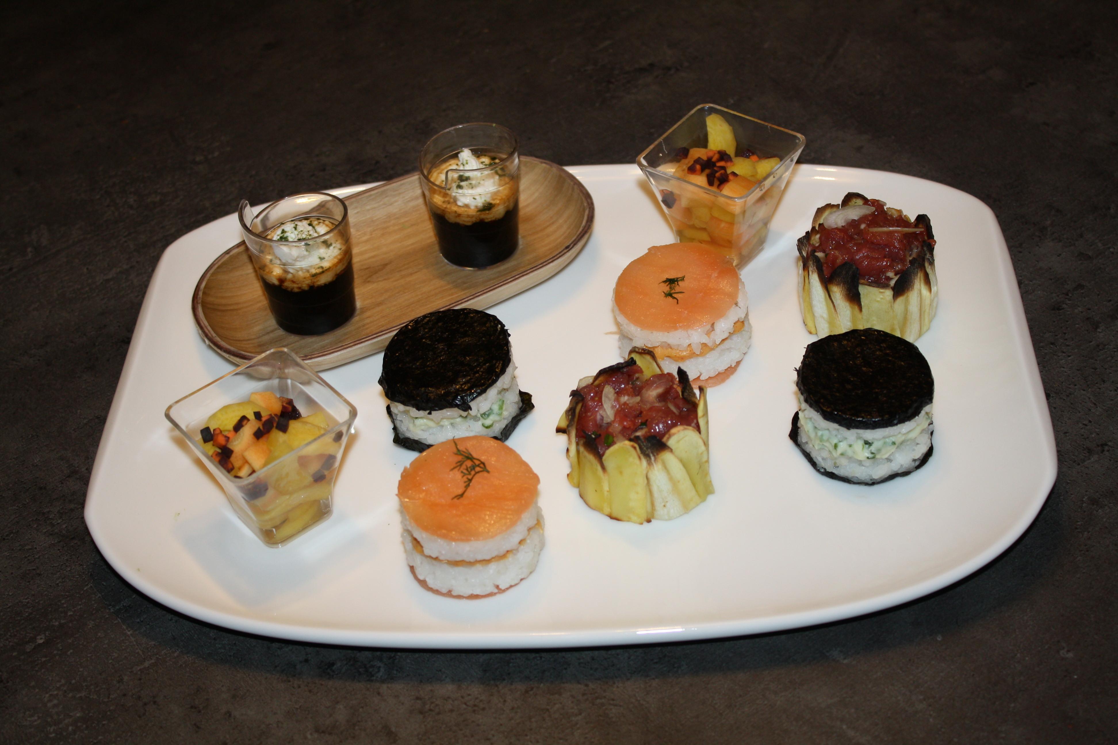 Beno t l 39 extra en cuisine vous invite cuisiner sa - Assiette rectangulaire pour cafe gourmand ...